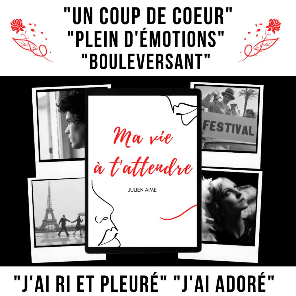 Julien Aime - Ma vie à t'attendre - avis des lecteurs